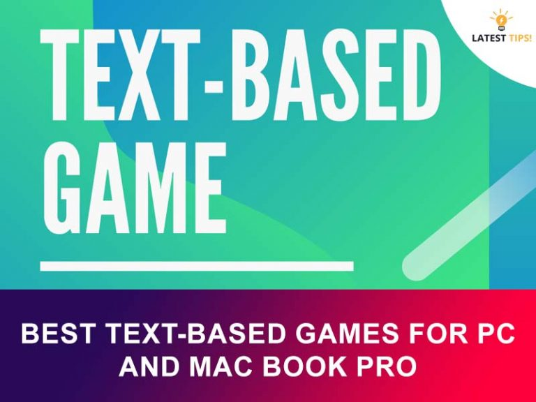 Best text-based games for pc and mac book pro