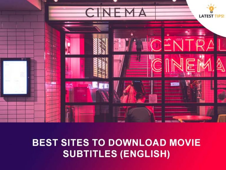 Best webSites to Download Movie Subtitles (English) for Free