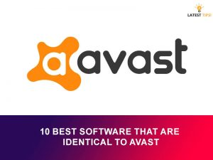 Software that are identical to Avast