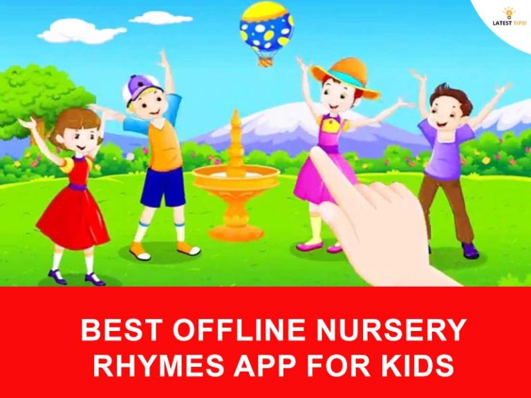 best offline nursery rhymes app for kids