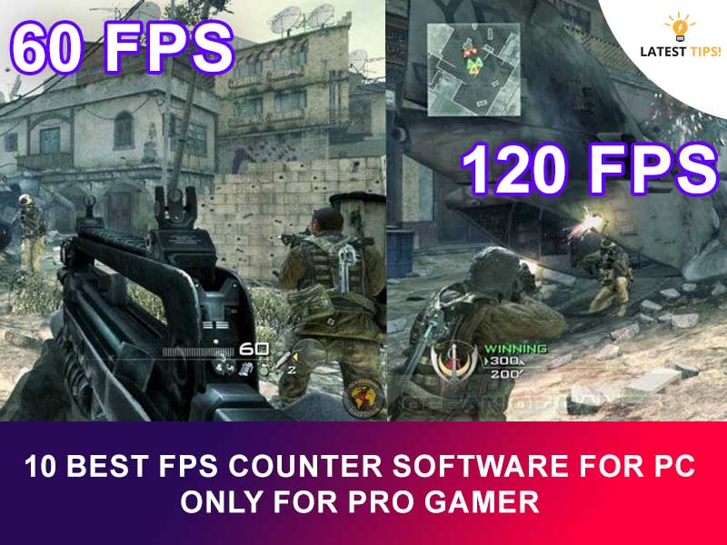 FPS Counter Software for PC Only For Pro Gamer