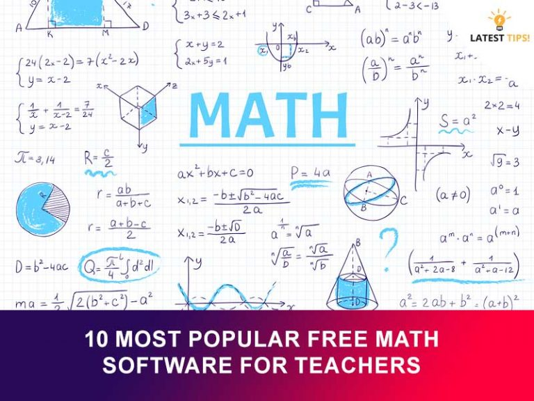 Latest Tips – 10 Most Popular Free Math Software for Teachers  #2021