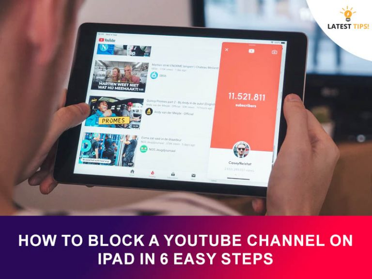 How To Block A YouTube Channel On Ipad In 6 Easy Steps