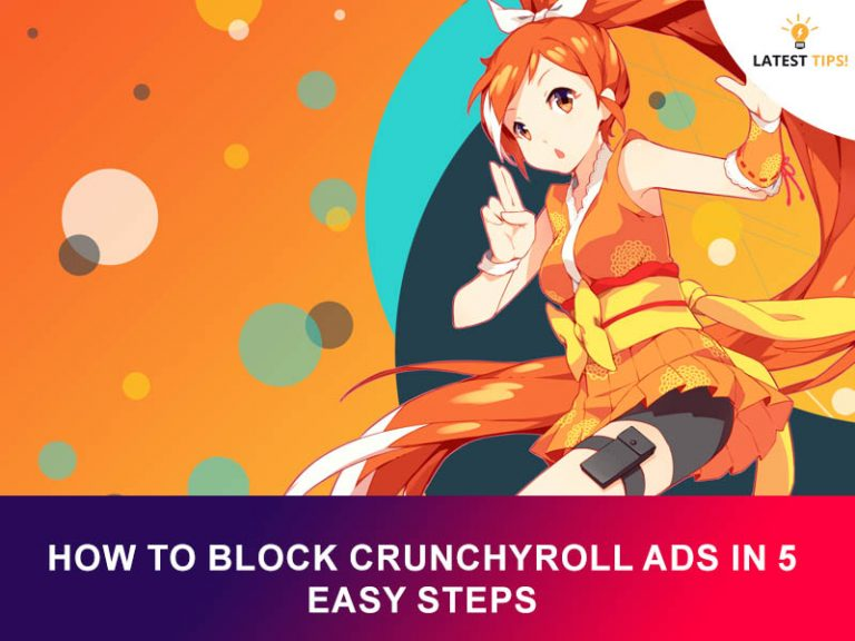 How To Block Crunchyroll Ads In 5 Easy Steps