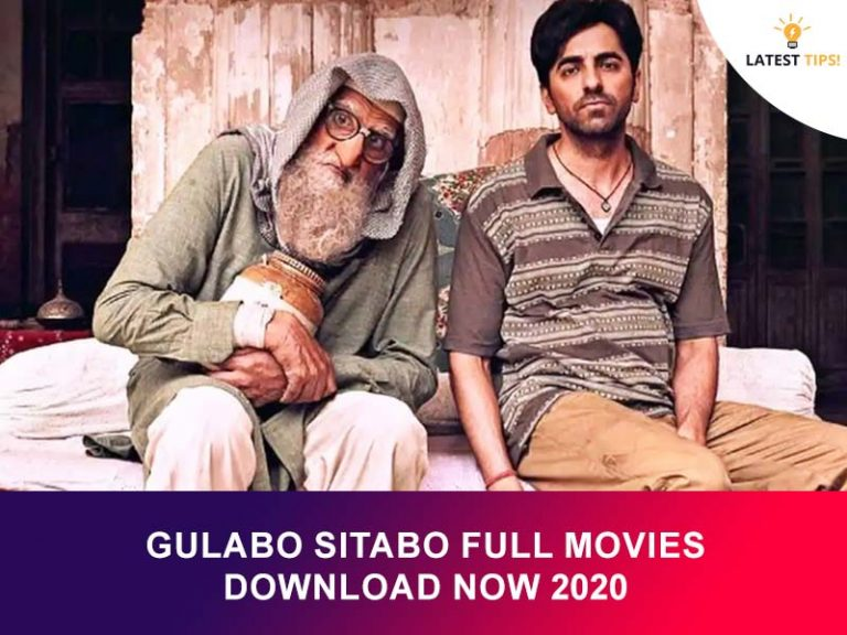 Gulabo Sitabo Full Movies Download Now