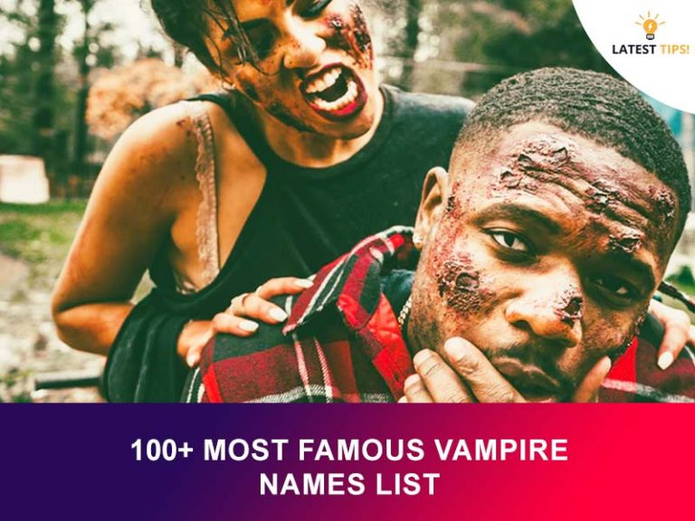Most Famous Vampire Names List