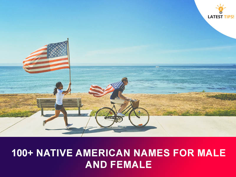 native american names for male and female